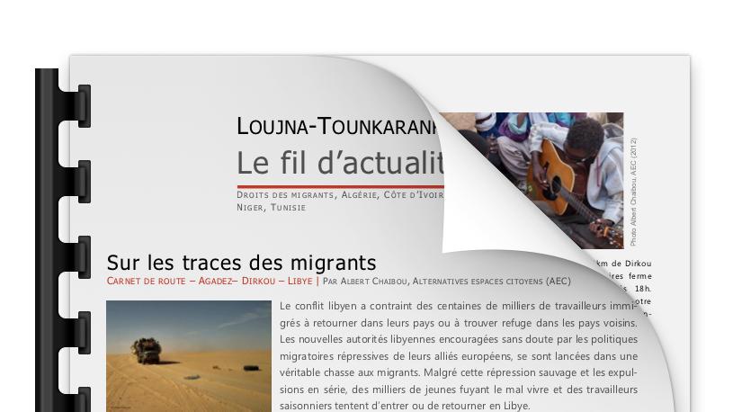 Le fil d'actualité #3 – Mars 2013